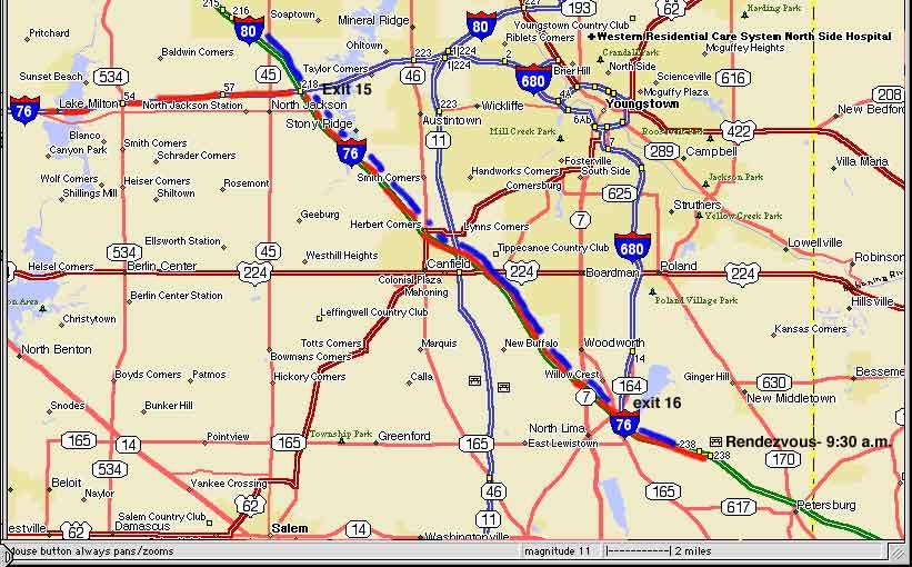 Penn Pike   Day 1 Itinerary